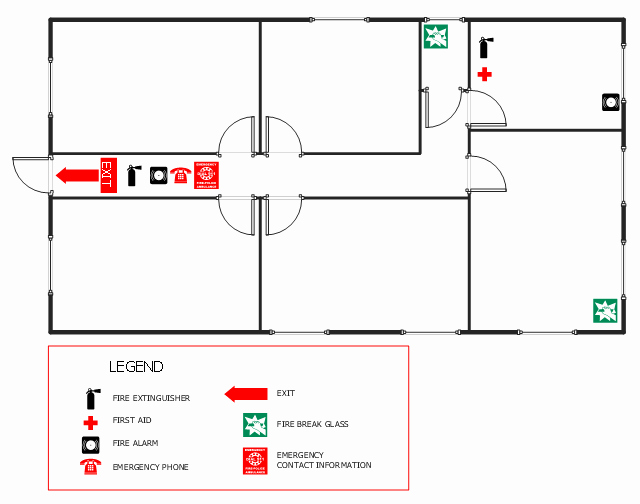 Emergency Evacuation Map Template Luxury Fice Fire and Emergency Plan