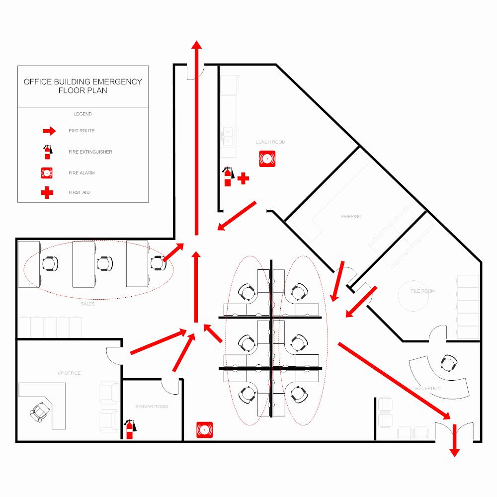 Emergency Evacuation Map Template New Fice Evacuation Plan