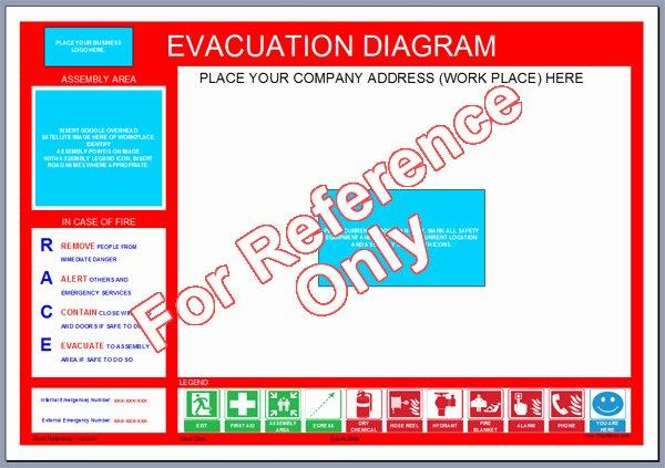 Emergency Evacuation Map Template Unique Evacuation Plan Template Victoria Templates Resume