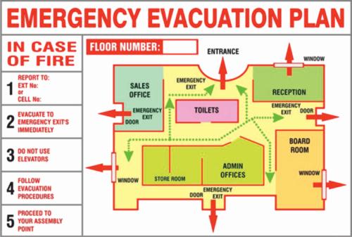 Emergency Evacuation Map Template Unique Fire Evacuation Map Emergency Evacuation Plan Evacuation