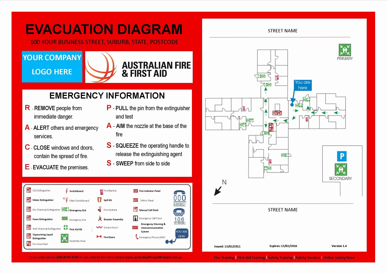 Emergency Evacuation Plan Template Free Beautiful Evacuation Plan Template Australia Templates Resume