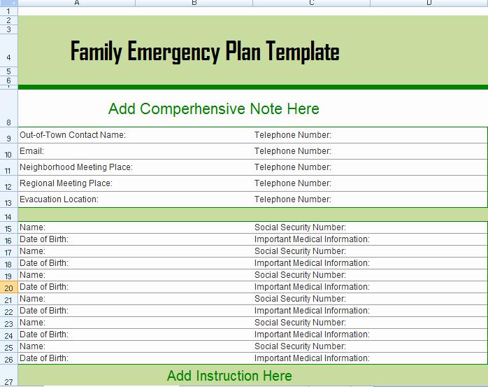 Emergency Evacuation Plan Template Free Best Of Hurricane Evacuation Plan Louisiana Family Emergency Plan