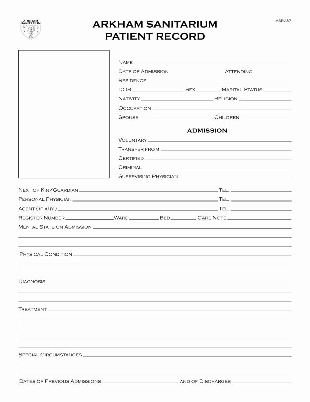Emergency Room Release form Beautiful Emergency Room Discharge Papers Template