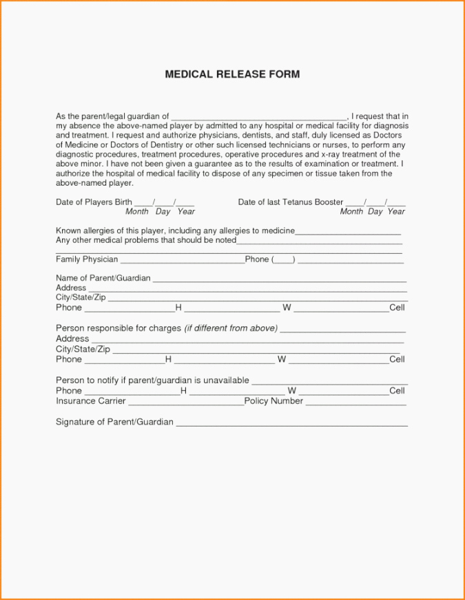 Emergency Room Release form Template Awesome top 40 Trust Printable Fake Hospital Discharge Papers