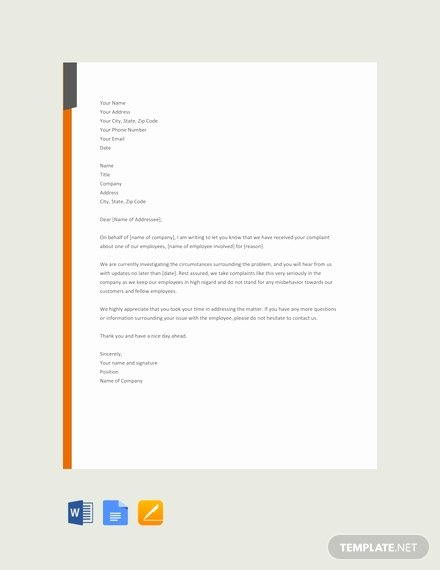 Employee Acknowledgement form Template Fresh 17 Free Acknowledgement Letter Templates [download Ready