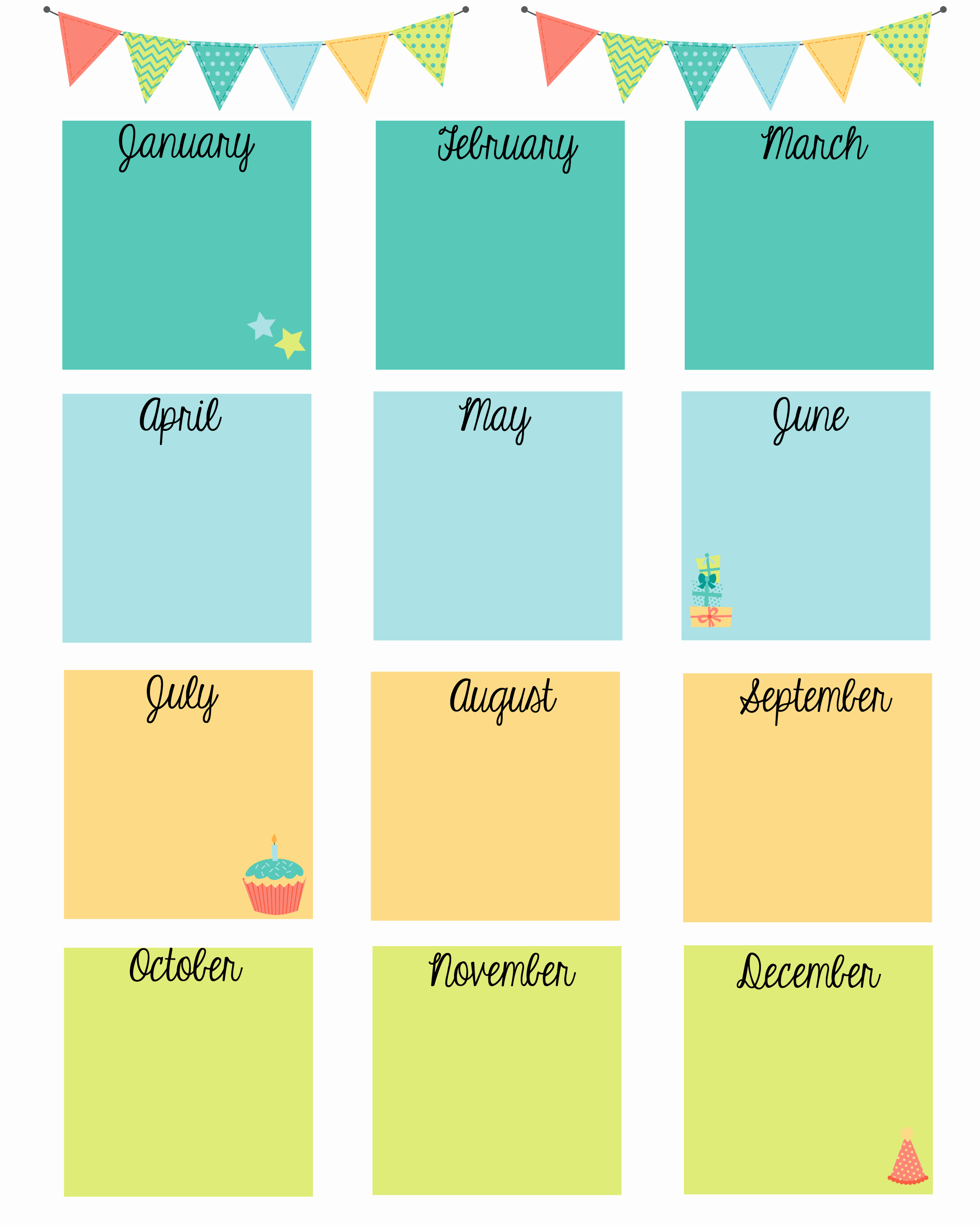 Employee Birthday List Template Awesome Keep In touch with Friends with A Birthday Calendar