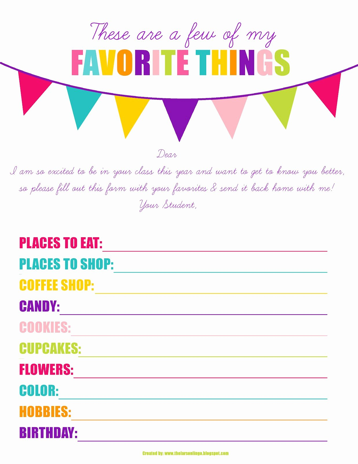 Employee Birthday List Template Inspirational the Larson Lingo First Week Of Kindergarten Back to