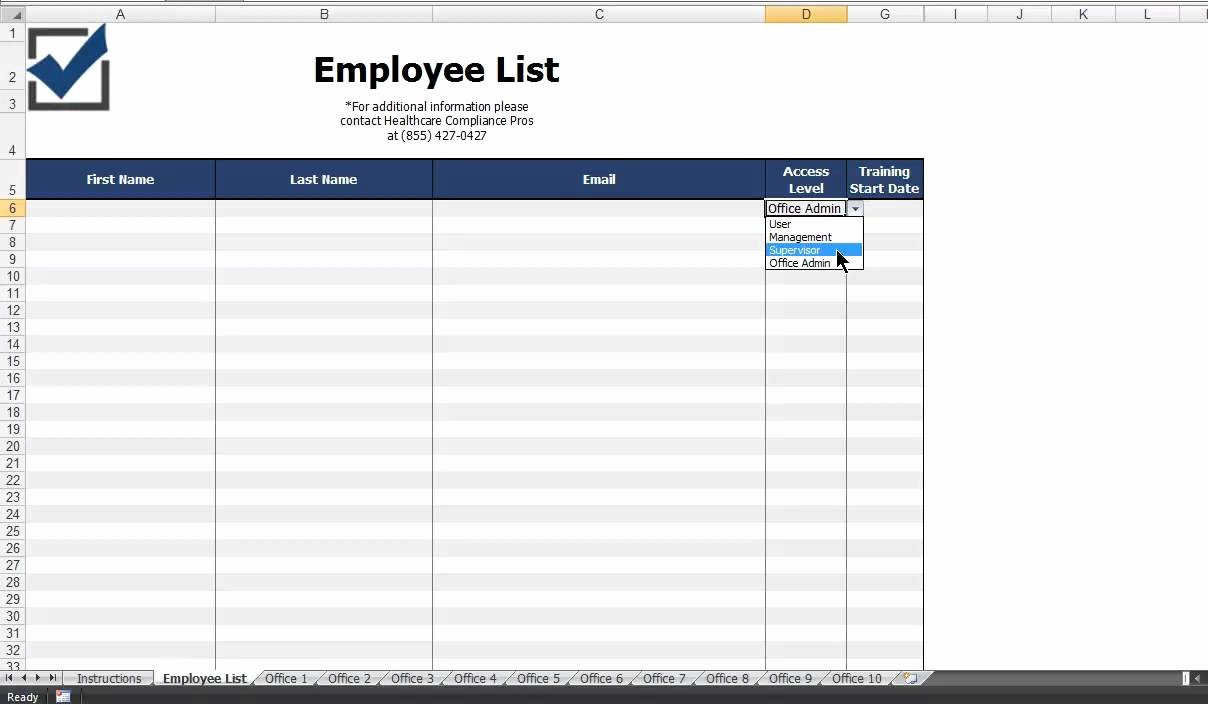 Employee Contact List Template Inspirational How Do I Plete the Employee List Template