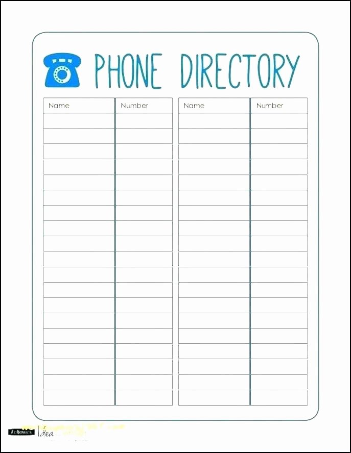 Employee Contact List Template Lovely Employee List Template Picture – Employee Task List