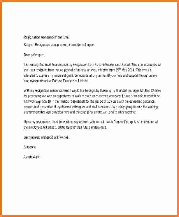Employee Death Announcement Template Awesome 11 Employee Termination Announcement