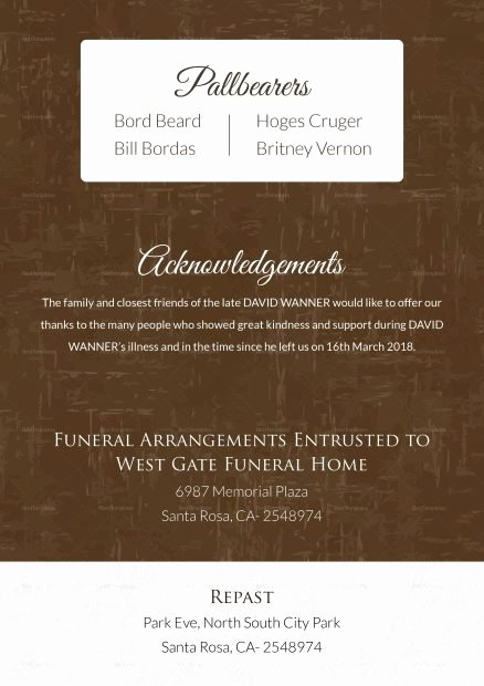 Employee Death Announcement Template Lovely Death Announcement Template Letter Examples islamic Sample