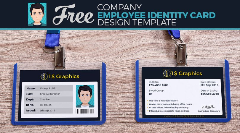 Employee Id Card Template Free Download Awesome Employee Id Card Shop Template Free Download