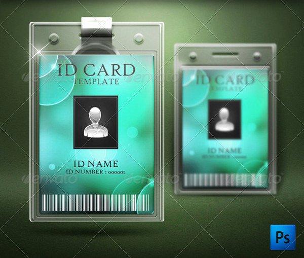 Employee Id Card Template Free Download Beautiful 31 Modern Id Card Designs & Ideas Word Psd Ai