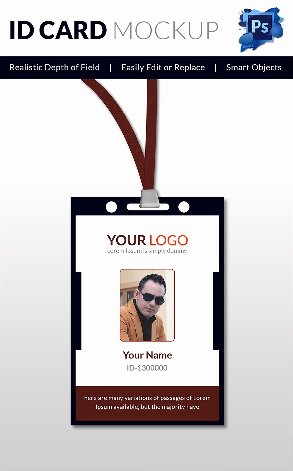 Employee Id Card Template Free Download Best Of 18 Id Card Templates – Free Psd Documents Download