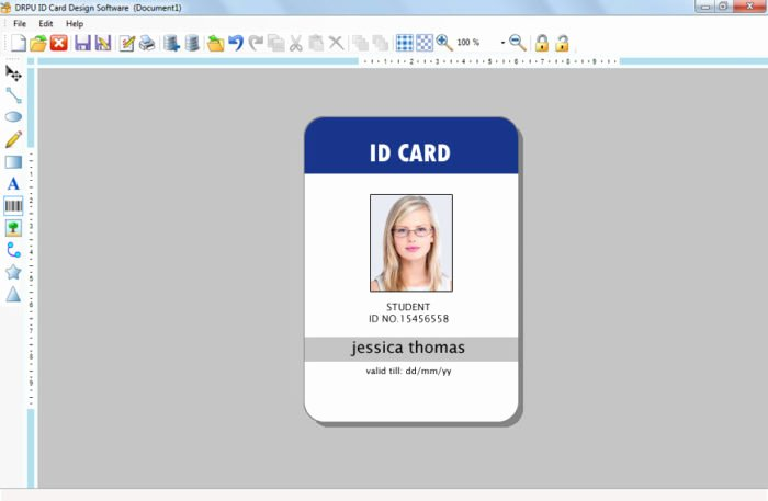 Employee Id Card Template Free Download Inspirational Employee Id Badge Template Templates Resume