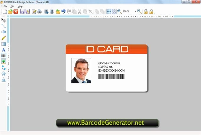 Employee Id Card Template Free Download Unique Employee Id Cards Download