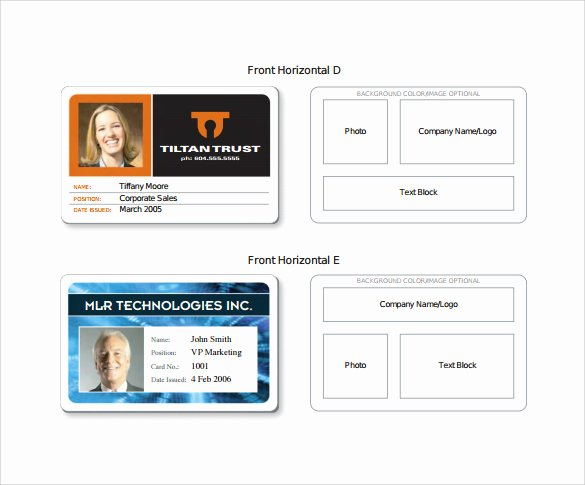 Employee Id Card Template Free Download Unique Id Card Template 19 Download In Psd Pdf Word