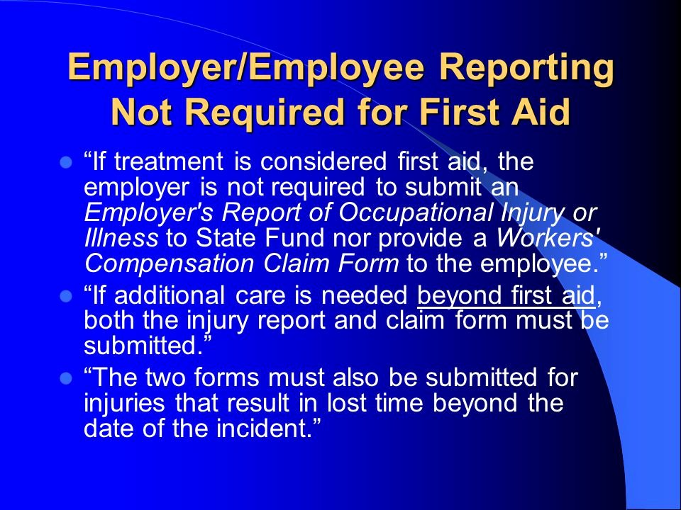 """Employee Injury Report Fresh """"first Aid Ly """" Dan Rafael Azar Md Mph Qme Medical"""