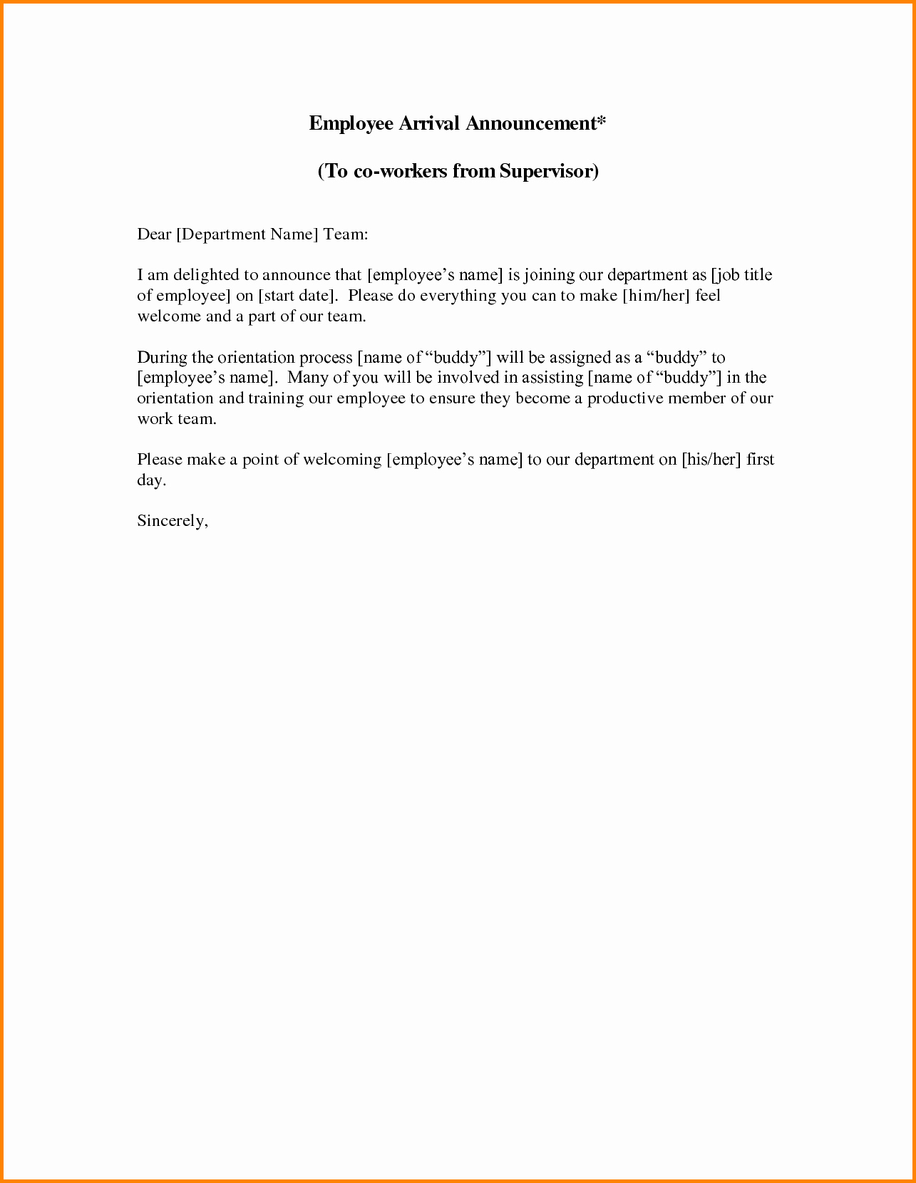 Employee Leaving Announcement Letter Samples Beautiful 7 Resignation Announcement Letter