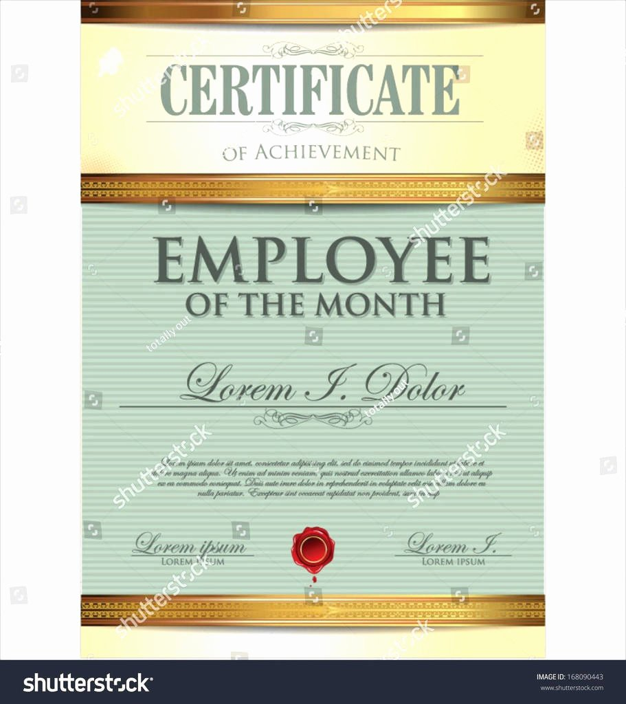 Employee Of the Month Nomination form Template Awesome Beautiful Employee Recognition Nomination form Example at