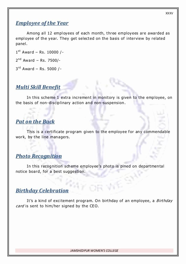 Employee Of the Month Nomination form Template Beautiful Rewards & Recognition