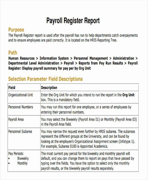 Employee Payroll Ledger Template Elegant Employee Payroll Templates