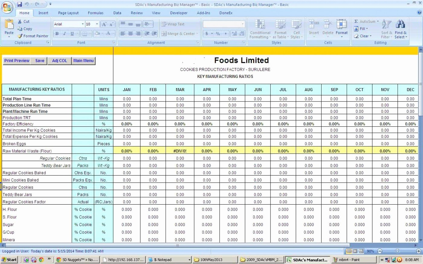 Employee Performance Tracking Template Excel Unique Employee Production Tracking Spreadsheet Spreadsheet