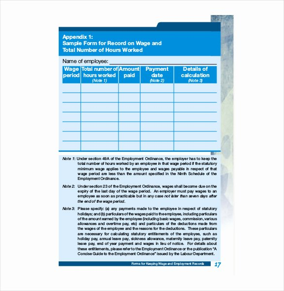 Employee Personnel File Template Lovely Employee Record Templates 26 Free Word Pdf Documents