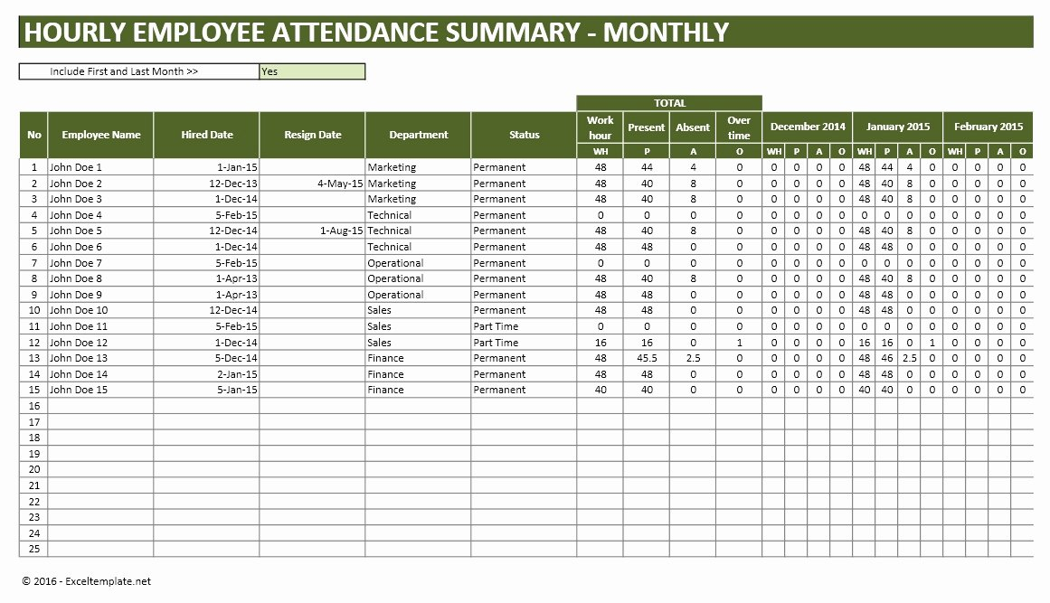 Employee Productivity Tracking Template Best Of Employee Vacation Planner