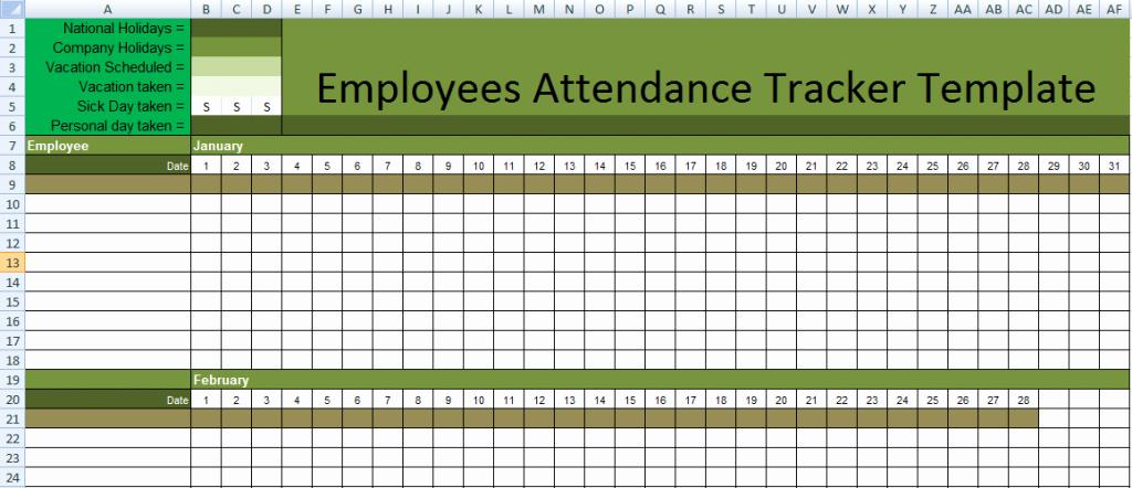 Employee Productivity Tracking Template Luxury Get Employee attendance Tracking Templates Excel