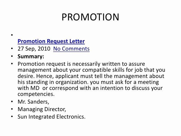 Employee Raise form Unique Request for Promotion Consideration