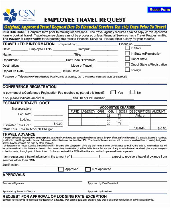 Employee Requisition forms Inspirational Requisition form Example