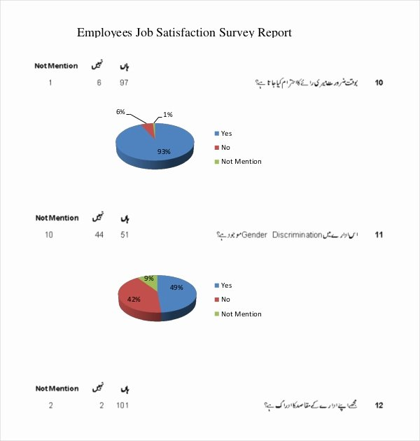 Employee Satisfaction Survey Questionnaire Doc New 20 Employee Survey Templates & Samples Doc Pdf
