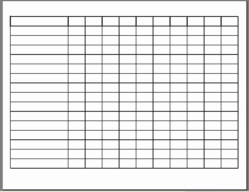 Employee Weekly Schedule Template Free New 10 Best Of Free Printable Blank Employee Schedules