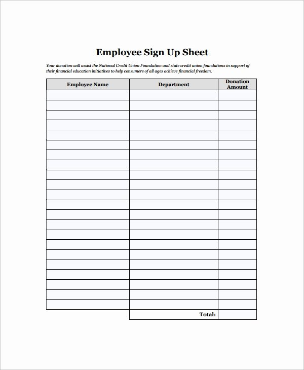 Employees Sign In Sheet Best Of Sample Employee Sign In Sheet 15 Free Documents