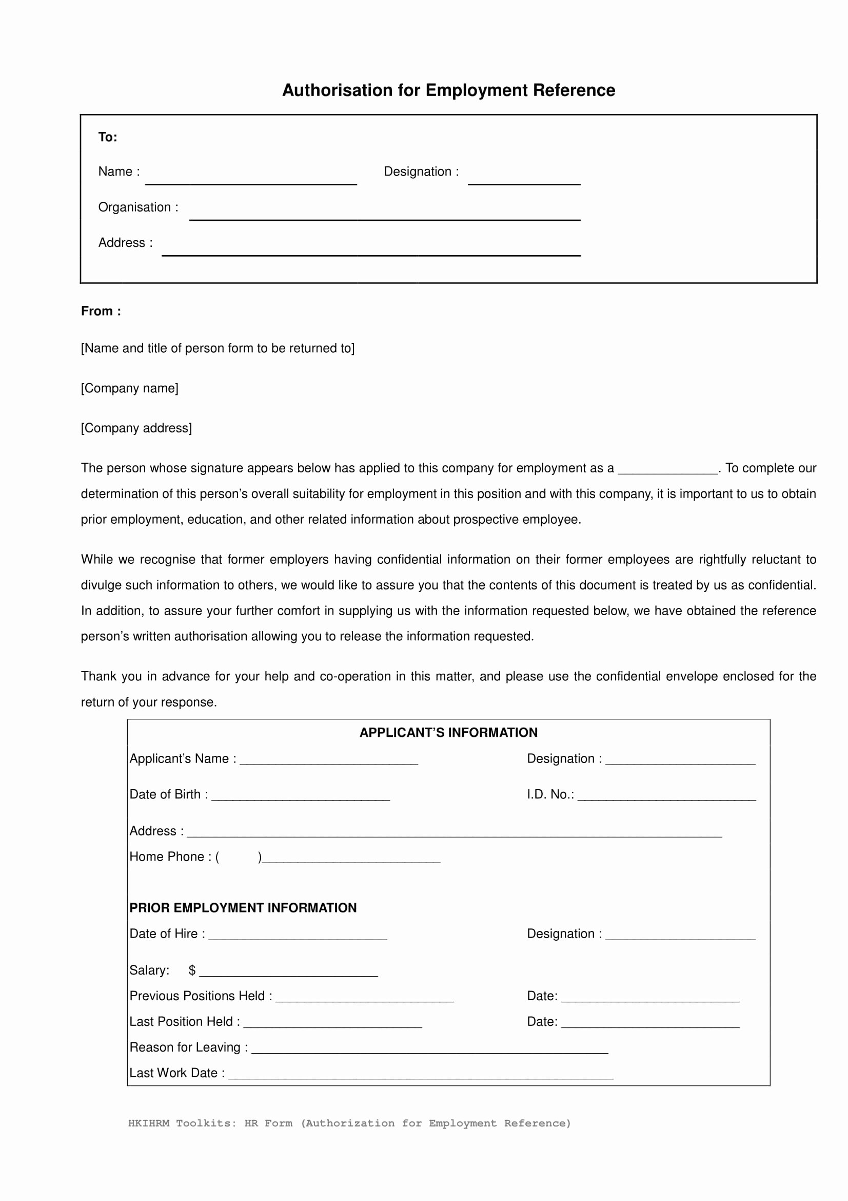 Employment Reference Request form Best Of 14 Reference Request and Release forms Free Word Pdf
