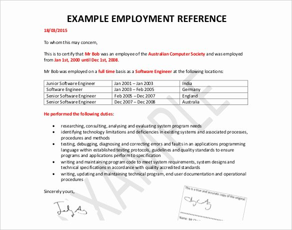 Employment Reference Request form Elegant 42 Reference Letter Templates Pdf Doc