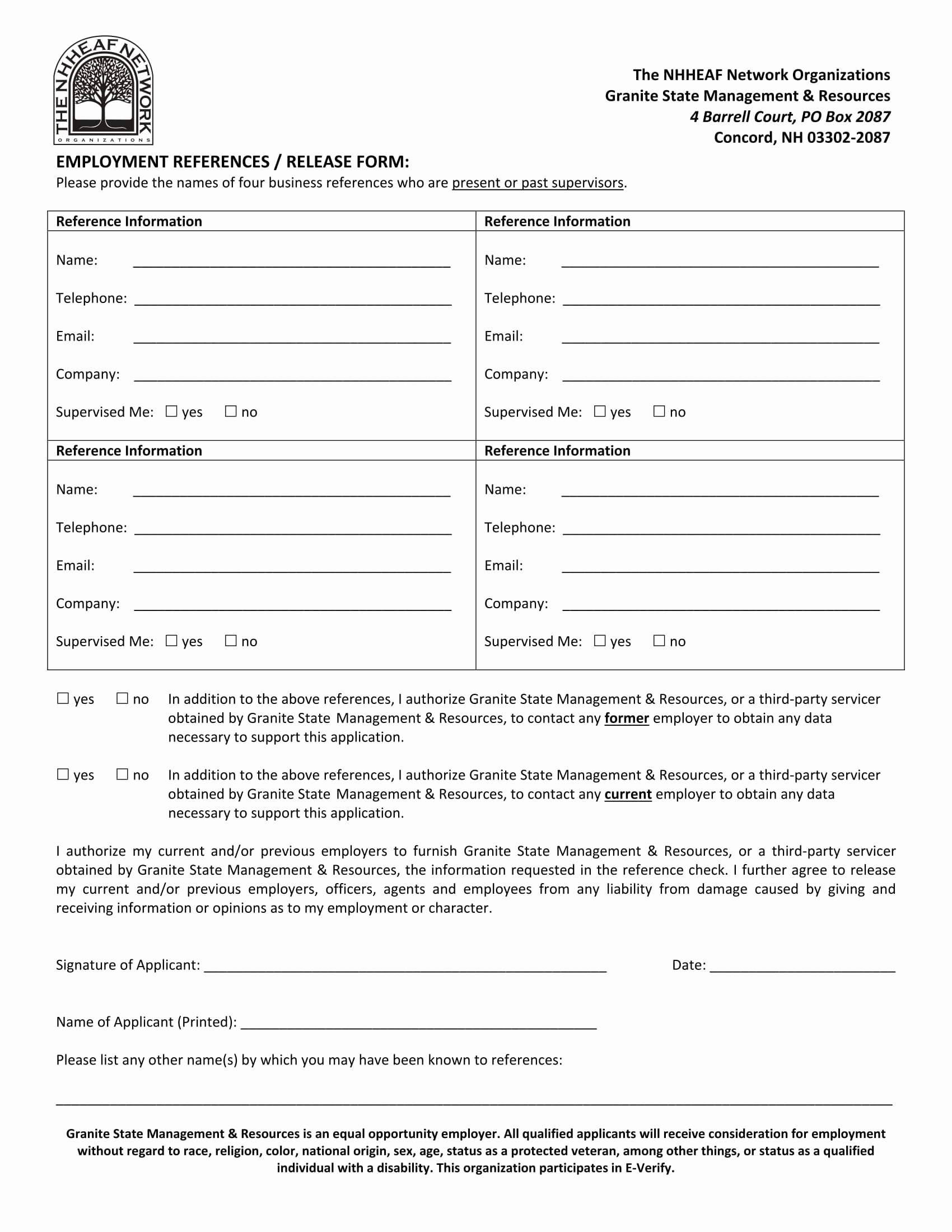 Employment Reference Request form Luxury 14 Reference Request and Release forms Free Word Pdf