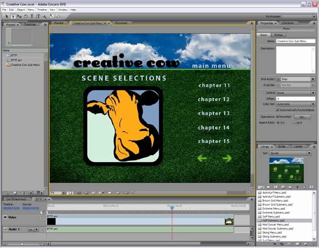 Encore Menu Template Best Of Adobe Encore 2 0 Reviewed Adobe Encore Dvd