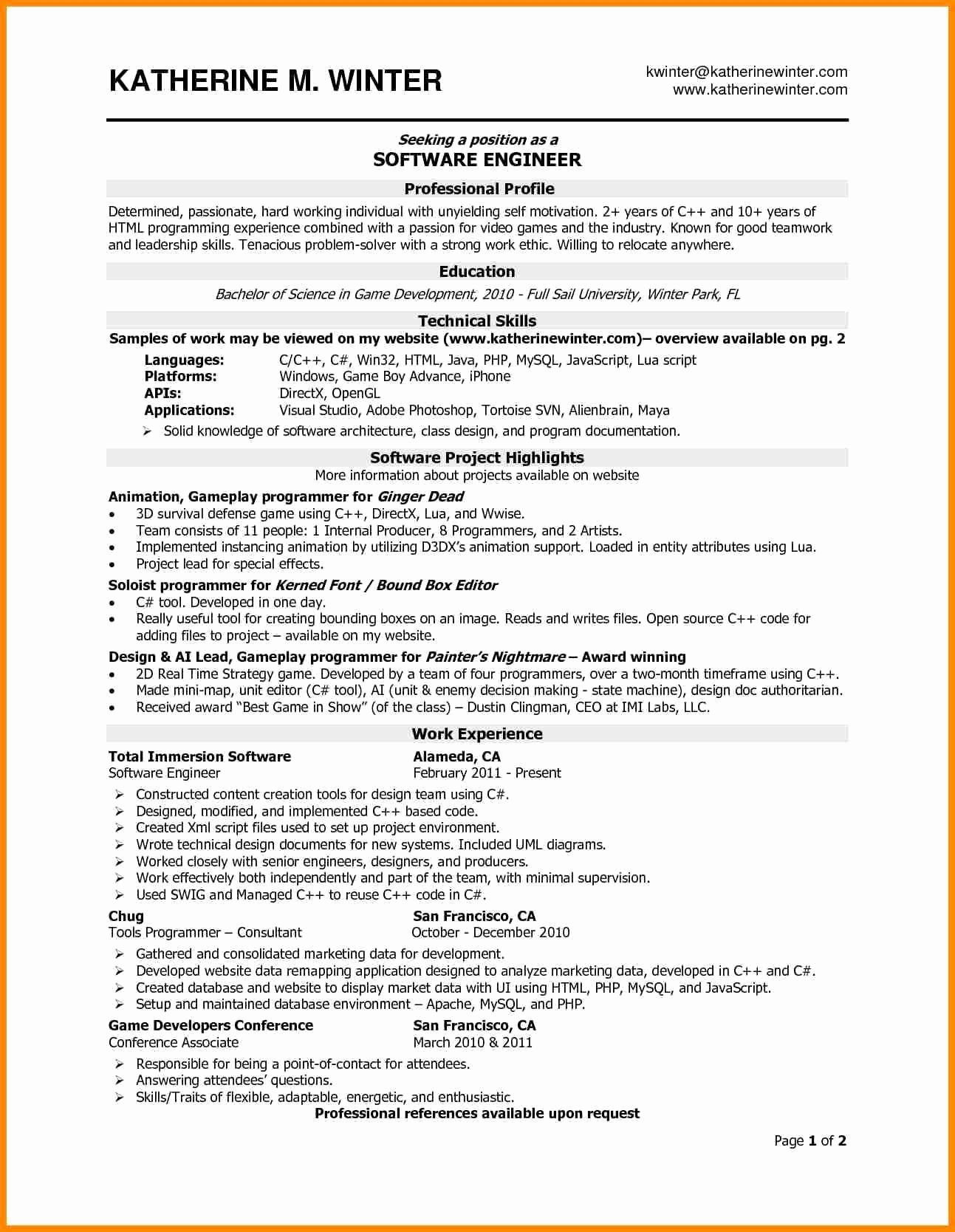 Engineering Contract Template Fresh Programmer Contract Template