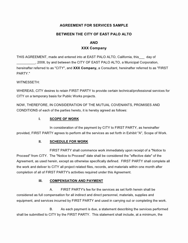 Engineering Contract Template Inspirational Microsoft Word Request for Proposal Engineering Services