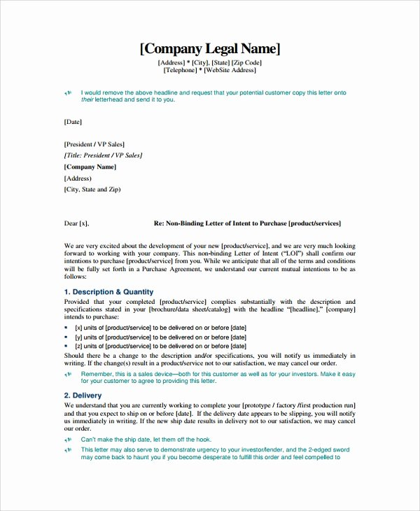 Engineering Contract Template Lovely Letter Of Intent Vice President Writing Better University