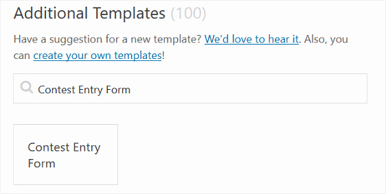 Entry form Template Word Luxury How to Create A Contest Entry form In Wordpress Step by Step