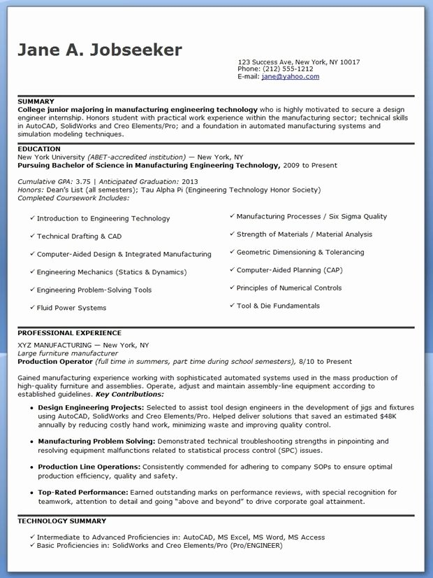 Entry Level Mechanical Engineering Resume Best Of Sample Resume for Mechanical Engineer Entry Level