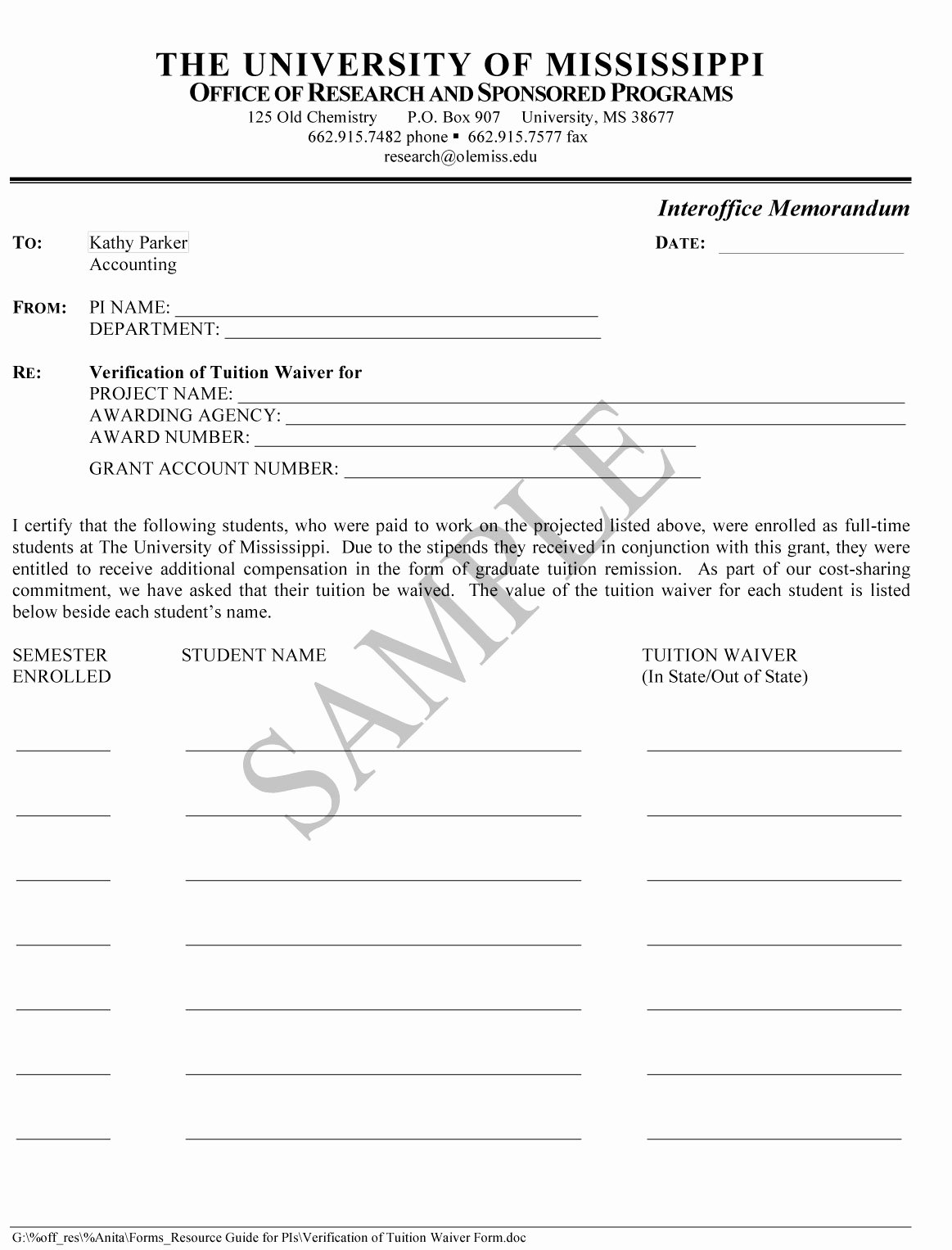 Equipment Release form Luxury Exhibits
