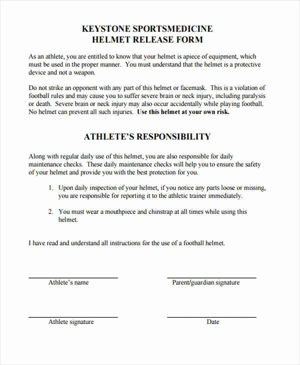 Equipment Release form Unique 10 Equipment Release form Samples Free Sample Example