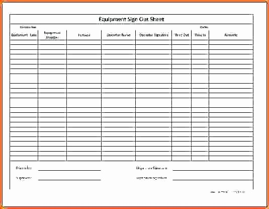 Equipment Sign Out Sheet Template Luxury Church Nursery Sign In Sheet Template thenurseries