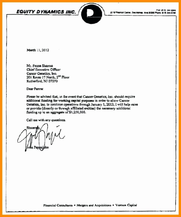 Equity Letter Template Awesome Mortgage Mitment Letter Sample Cooperative Writing A 2