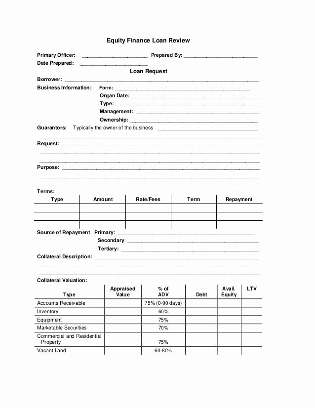 Equity Share Agreement Template Awesome Equity Finance Loan form Application