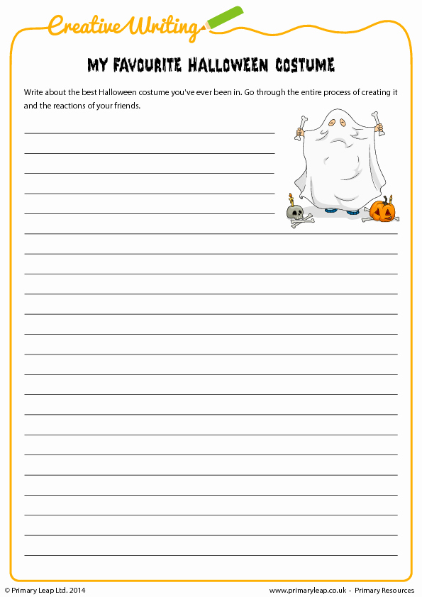 Esl Writing Prompts with Pictures Elegant Halloween Writing Activity